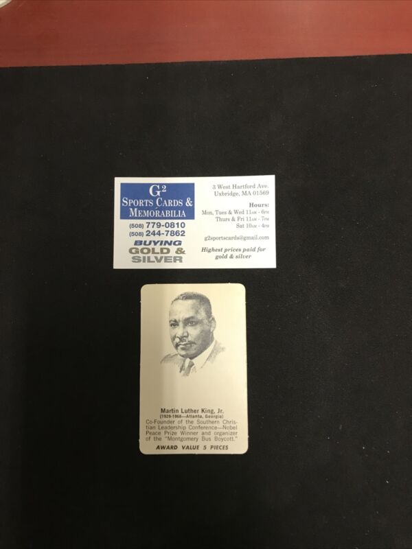 1969 Shindana Toys Afro-American History Mystery Martin Luther King Jr. EX COND.