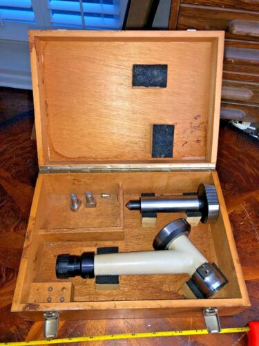 CHARMILLES EDM CENTERING SCOPE & MAGNETIC CENTERING TOOL IN CASE MARCEL AUBERT