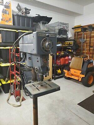 Rockwell Delta Series 15-655 Floor Drill Press Variable Speed Usa Made