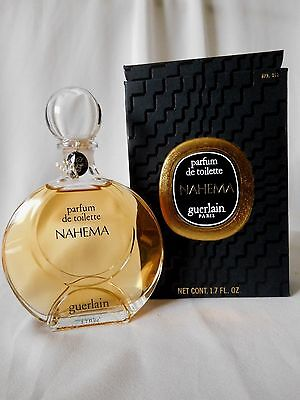 Vintage GUERLAIN NAHEMA 1.7 OZ  Perfume / Parfum de Toilette, Sealed Bottle for sale  Cibolo