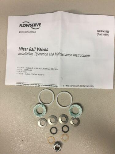 Flowserve Worcester Controls 05  RK59 RT Repair Ball Kit Valves Part 16474