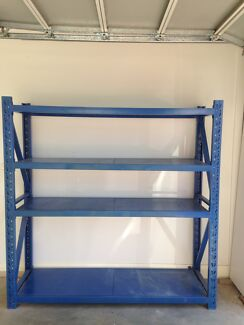 Metal Storage Shelves Gladesville Ryde Area Preview