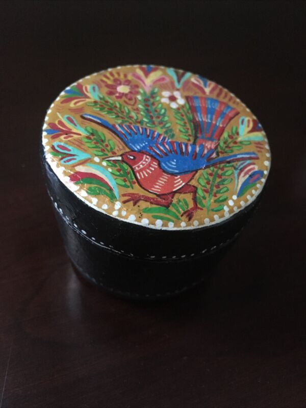 Mexico - Paper Mache Original Signed Box