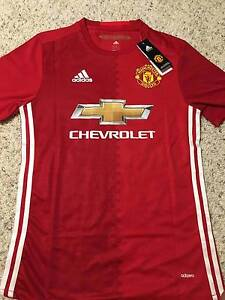 MANCHESTER UNITED 2016/17 POGBA LARGE GENUINE JERSEY Strathfield Strathfield Area Preview