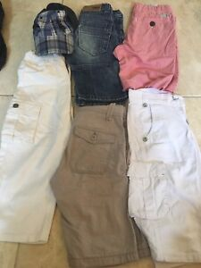 Boys summer shorts, pant and hat
