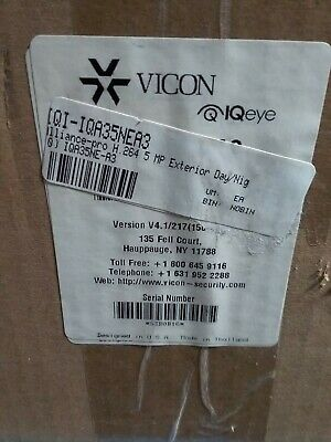 Vicon Iqeye Iqa35ne-a3 Alliance-pro H.275 Exterior Daynight 5mp Skbawa-tbc-jb