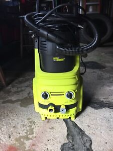Power It 2000 psi electric pressure washer and vacuum combo