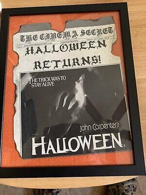 Halloween 1978 Michael Myers John Carpenter News Print