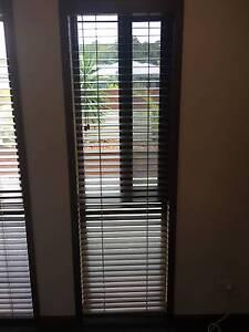 Wooden 50mm Slat Blinds 600 W x 2100L x 3 Sets Coolum Beach Noosa Area Preview
