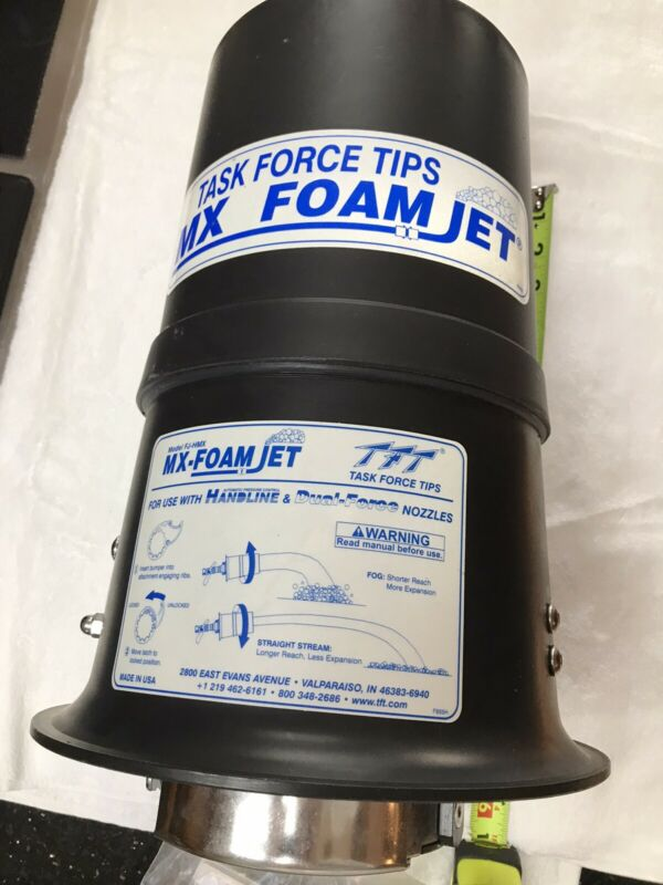 Task Force Tips, TFT, Foam Nozzle attachment Model FJ-HMX, New, Fire Department