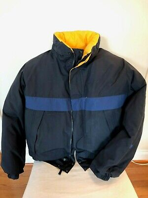 Nautica Down Filled Vintage Reversible Jacket