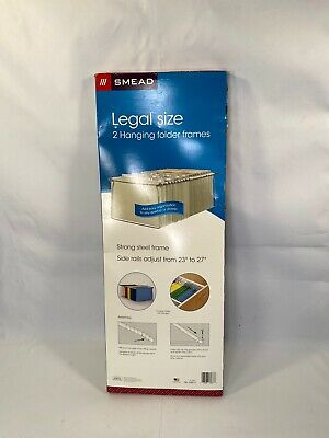 Smead Steel Hanging File Folder Frames Legal Size Steel 2 Per Pack 64870