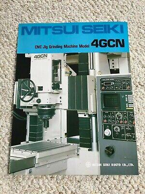 Mitsui Seiki 4gcn Cnc Jig Grinding Machine Specification