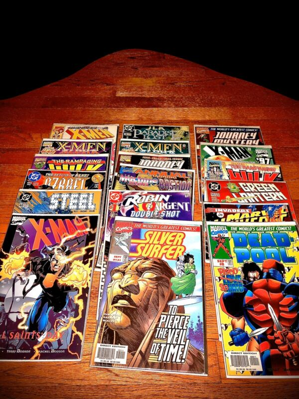 HUGE!! 20 Comic Book Lot. All @ 1999). Marvel DC & More! Great Condition.