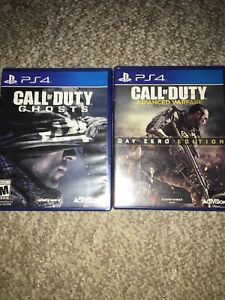 2 call of duty games
