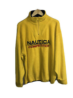 Vintage Nautica Competion Fleece Sweater