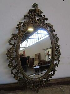 D5076 Gorgeous Ornate Gold Framed French Style Oval Wall Mirror Mount Barker Mount Barker Area Preview