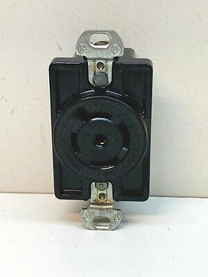Hubbell 2530a Twist-lock Receptacle 20a 347600v 3-phase 4-pole 5-wire L23-20p
