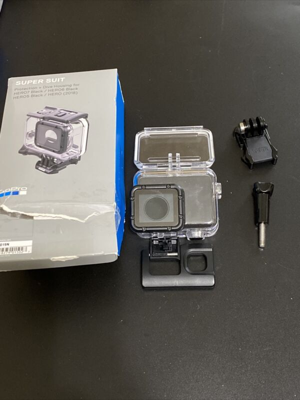 GoPro Super Suit Dive Housing for HERO7/6/5 Black and HERO 2018 Action Cameras