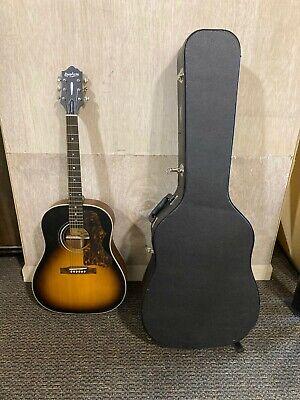 Epiphone Masterbilt AJ-45ME -Vintage Sunburst Satin Acoustic Guitar w/ Hard Case