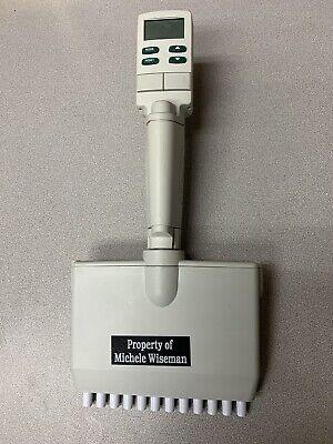 Rainin Edp3-plus Electronic Pipette 20-200ul 12-channel Lts Multichannel