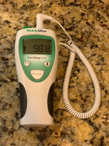 Welch Allyn SureTemp Plus 690 Digital Thermometer with Oral Probe