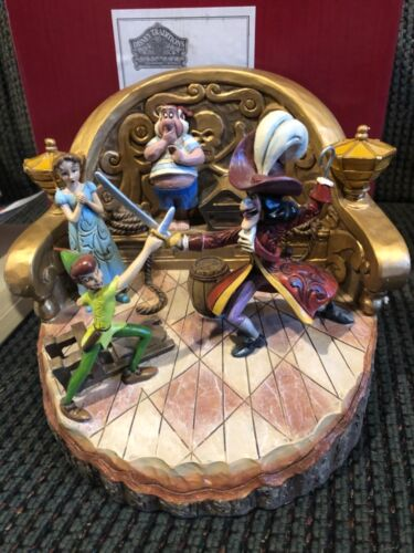 Disney Traditions Pan & Hook Daring Duel Carved by Heart