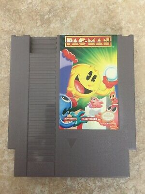 Pac-Man Nintendo NES Namco Version - Tested