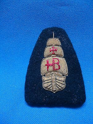 PORTUGAL PORTUGUESE ARMADA NAVY MARINE SHIP BOAT CARAVELLE HAND MADE PATCH 67mm