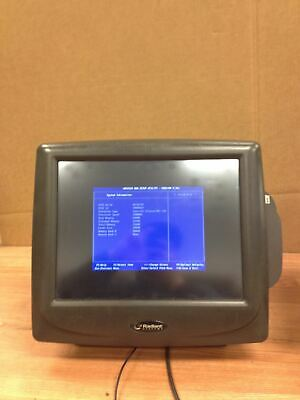 Radiant Systems P1510 Pos Point Of Sale Touchscreen Terminal Wcredit Card Swipe