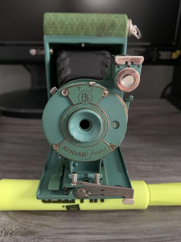 Vintage Kodak Petite Camera with Case~No Manual~c.1930 Good Condition