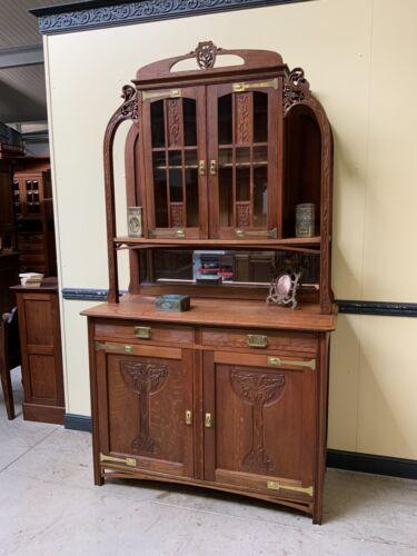 Antikes traumhaftes Jugendstil Buffet, Art Nouveau - Lieferung möglich!