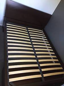 Queen Bed Frame with Storage Drawers - Solid Heavy Frame Narre Warren Casey Area Preview