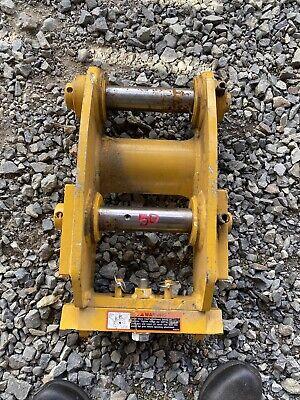 John Deere Hitachi 50zts 50d 50g Excavator Manual Wedge Quick Coupler Set