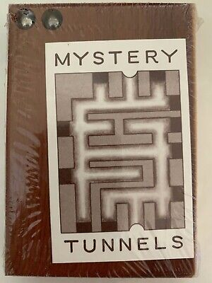Mystery Tunnels,  small wooden box, labyrinth, puzzle, maze