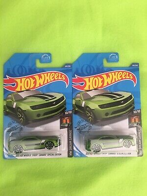 2020 Hot Wheels H Case Camaro Treasure Hunt Lot Of 2