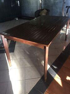 Outdoor timber table Balnarring Mornington Peninsula Preview