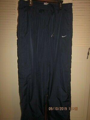 EUC Nike Men's Size M Navy Nylon Pants