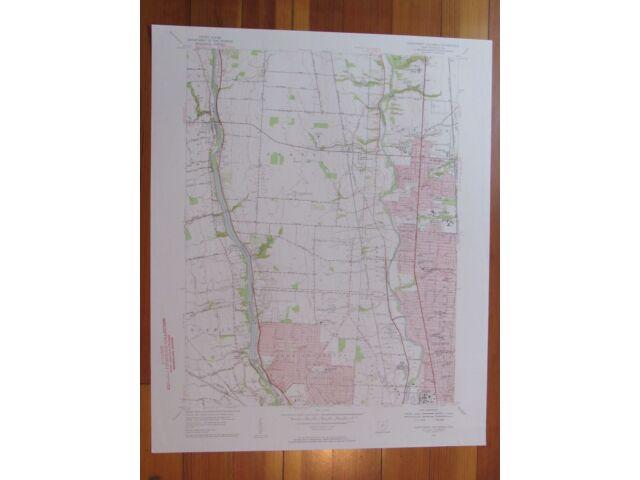 Northwest Columbus Ohio 1956 Original Vintage USGS Topo Map