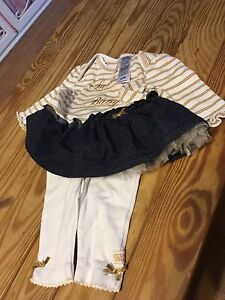 Baby guess 0-3months outfit $15