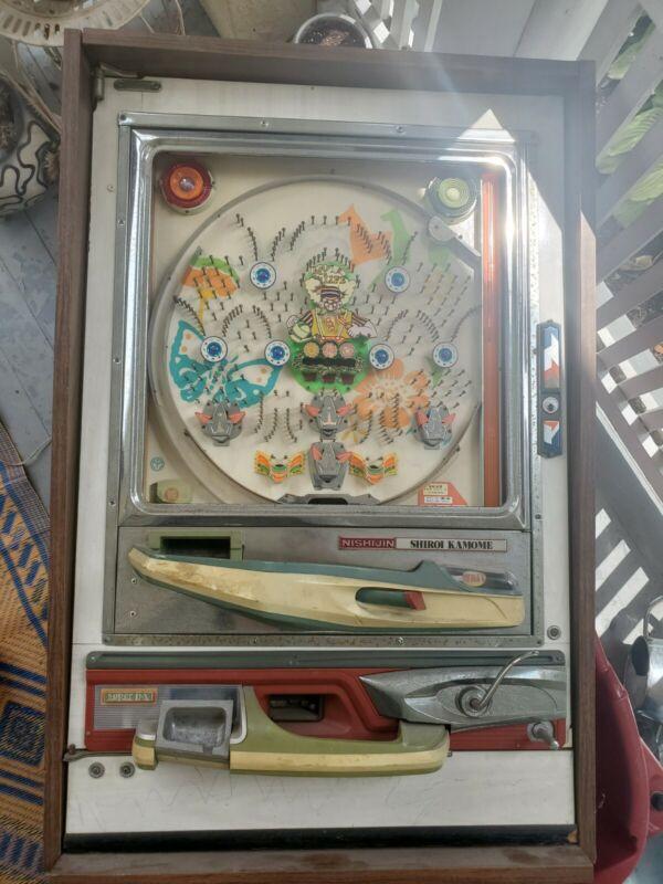 Nishijin  Pinball Machine Super Deluxe Model Japanese Vintage