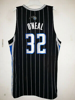 Adidas NBA Swingman Orlando Magic Shaquille O'Neal Black Jersey sz M