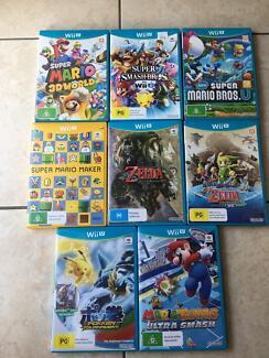 Wiiu Games $25 each