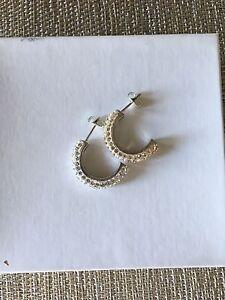 Semicircle Glam Earrings