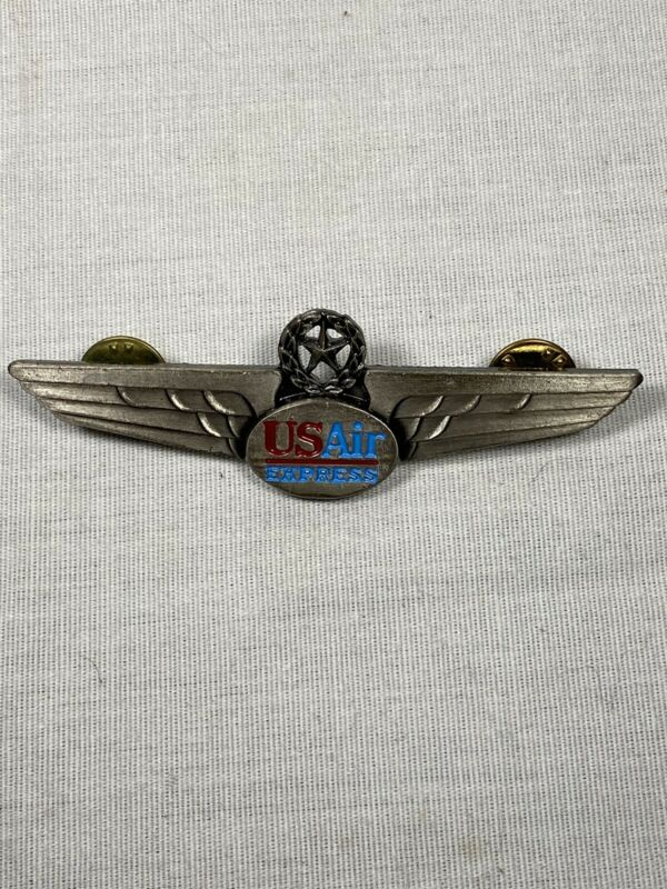 Authentic USAir Express Pilot Wings 1996