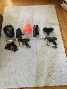 Paintball Markers + Gear  - Whole lot.