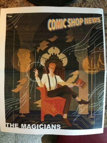 COMIC SHOP NEWS #1680 (2019) NM THE MAGICIANS (SYFY),  CAPTAIN ACTION, PROMO