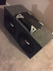 "^** TWO 12"" JBL SUBS WITH 1500 WATT AMP!"