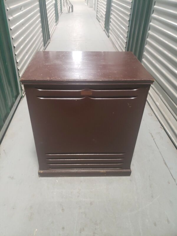 LESLIE 145 EMPTY WOOD CABINET SHIPPED OR PICK-UP FROM CHAMPLAIN,NY # 25