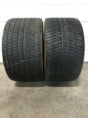 2x Take Off 325/710R18  Continental Wet W2 Race Slick Tires Full Tread for sale  Waterford